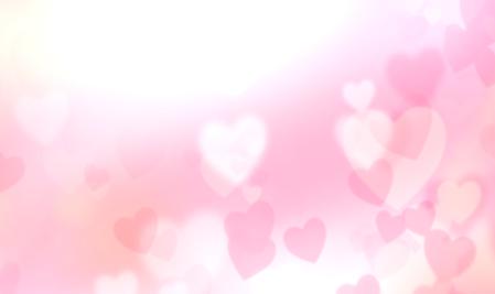 日光下粉红色爱心LED婚庆浪漫背景素材
