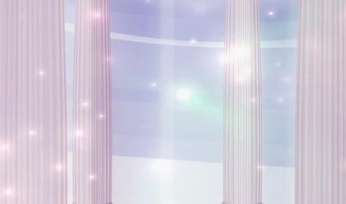 温暖的日光LED舞台背景视频素材
