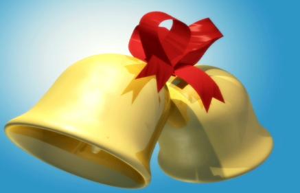 金色铃铛视频素材