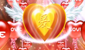 唯美爱情爱婚礼庆典视频素材