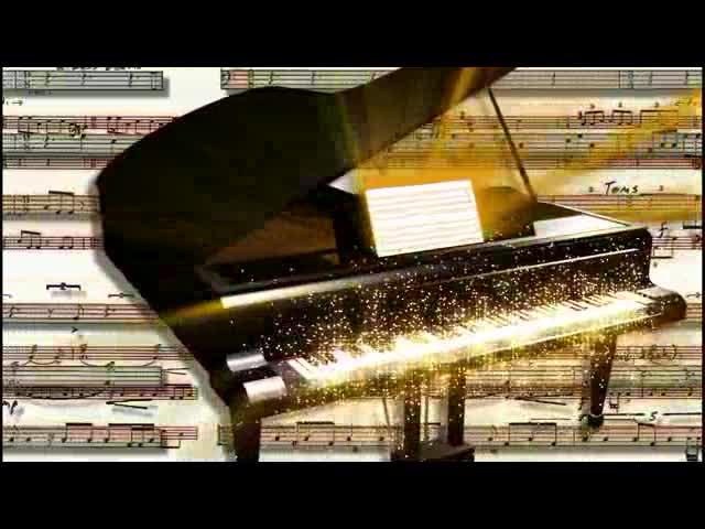 钢琴家钢琴 视频素材