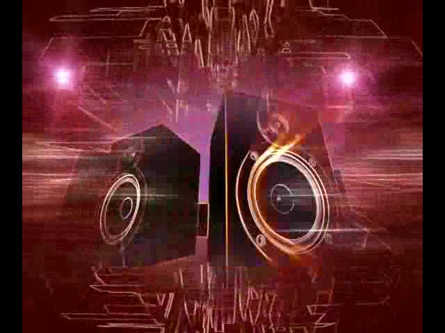3d音响喇叭 视频素材