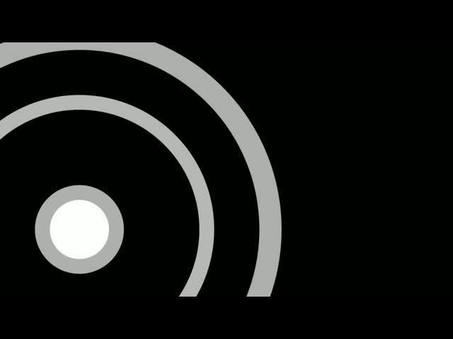动感光圈方框 视频素材