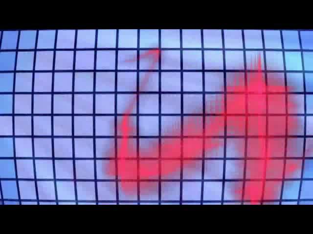 动感方格光效 视频素材