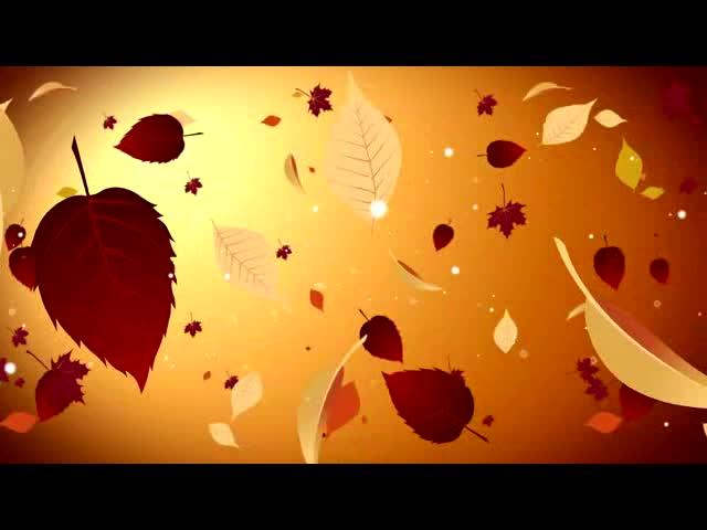叶子的音乐 视频素材