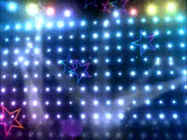 五角星灯光束LED视频素材