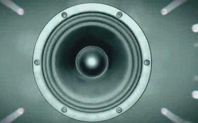 动感喇叭 视频素材