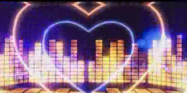 动态琴键光线音符节奏 视频素材