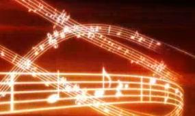 舞动的音符 视频素材
