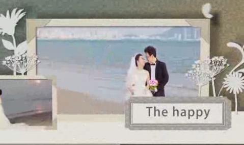 AE幸福约定婚纱电子相册模板《高清》 视频模板