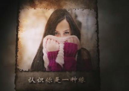 AE相册坚守的承诺浪漫爱情婚礼 含音乐视频模板