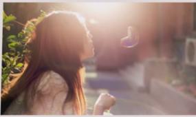AE简洁清新照片展示含音乐 视频模板