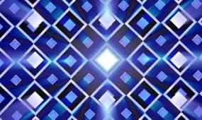 动感炫光方块 视频素材