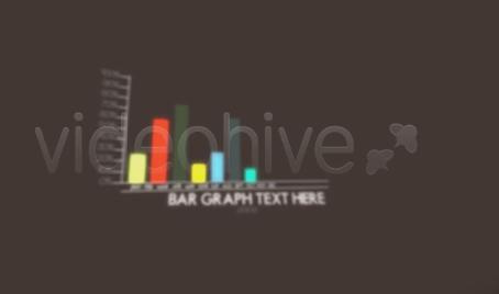 图表数据展示 视频模板
