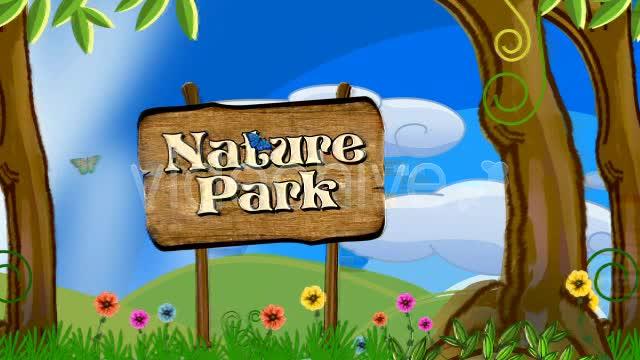 卡通公园 视频模板