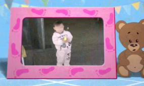 宝宝 生日 纪念 相册 视频模板