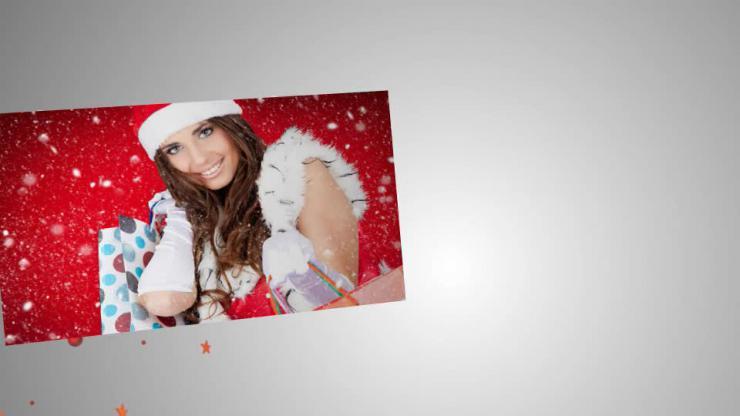 圣诞照片 视频模板