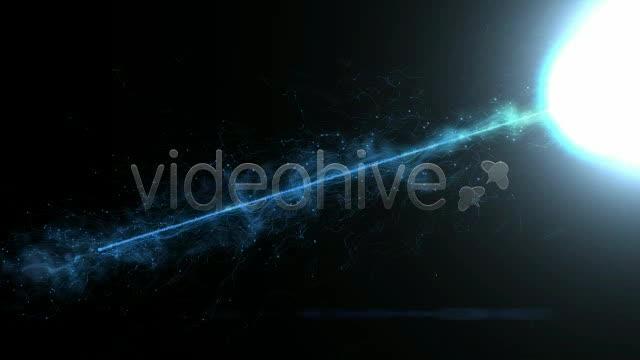 粒子旋转 视频模板