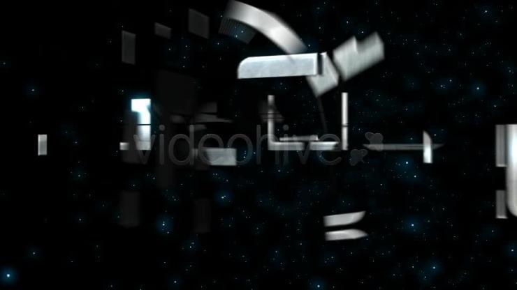 组合变换效果LOGO展示 视频模板