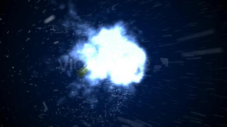 粒子组合 视频模板