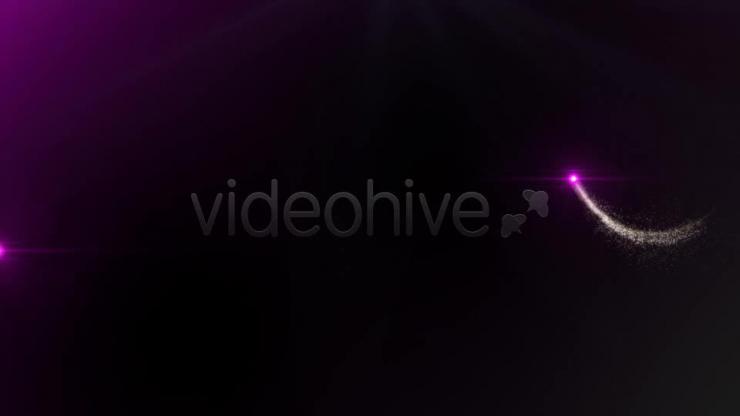 粒子追逐 视频模板