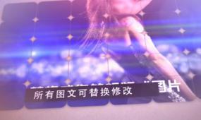 拼结分割相片展示ae视频模板