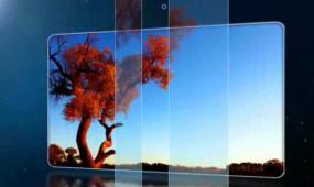 AE蓝光写真相册通用视频模板