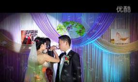 喜结良缘婚礼模板 视频模板