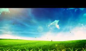 春天LED晚會背景視頻素材