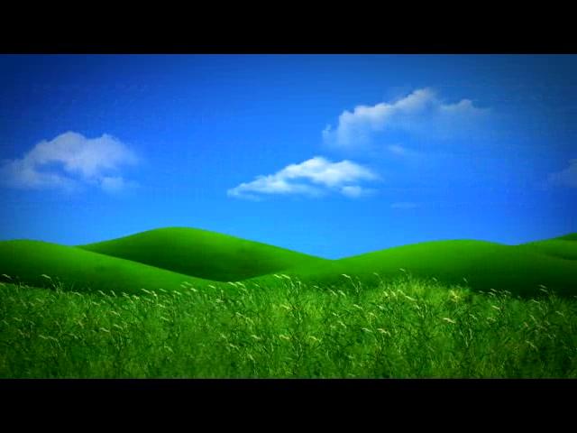 梦幻牧场蓝天白云