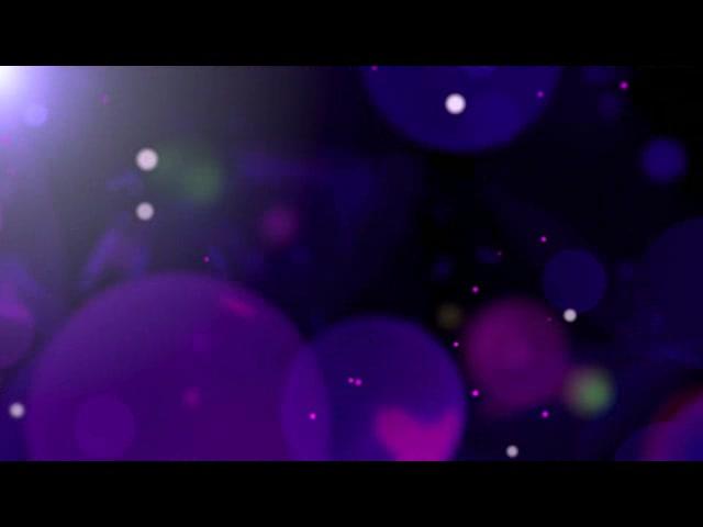 暗紫色背景光点光圈