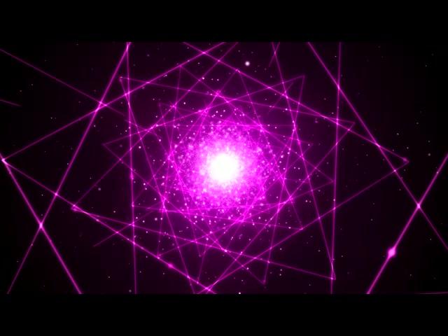 梦幻紫红色激光通道