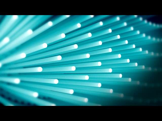 蓝色转动光束