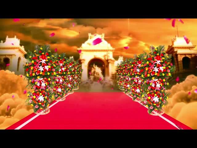唯美婚礼开场视频