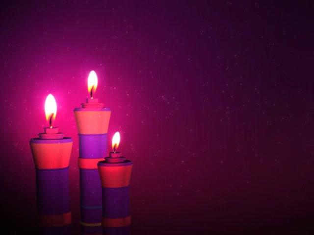 唯美蜡烛视频素材