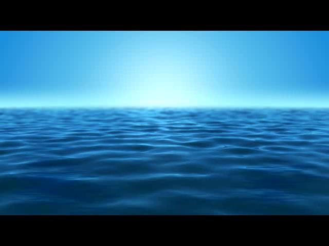 浩渺海洋蓝色天际