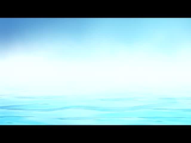 淡雅蓝色水波