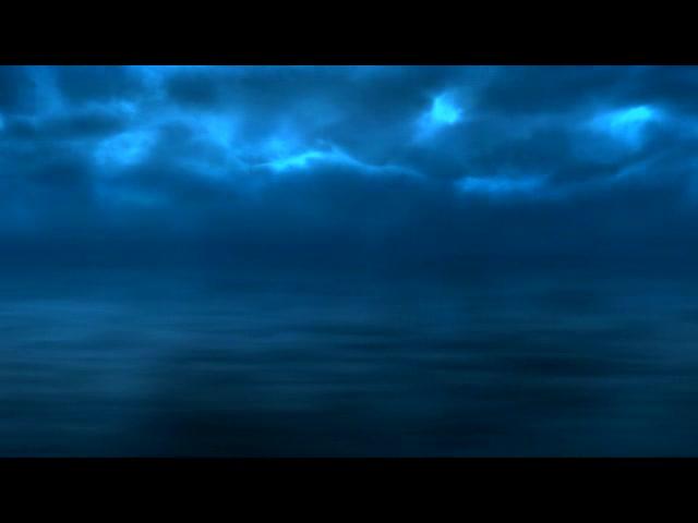 深蓝的天空