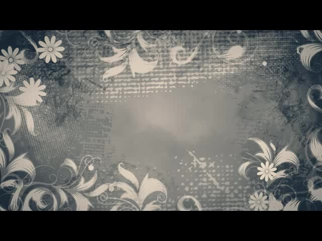 暗灰色背景生长的花纹
