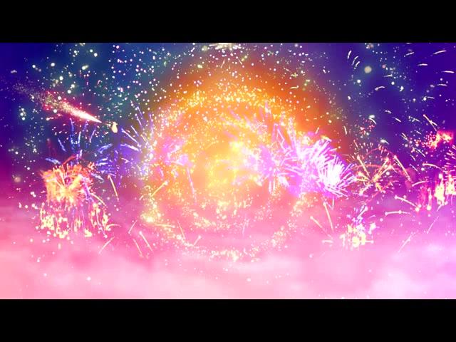 唯美大气玫瑰粒子背景视频