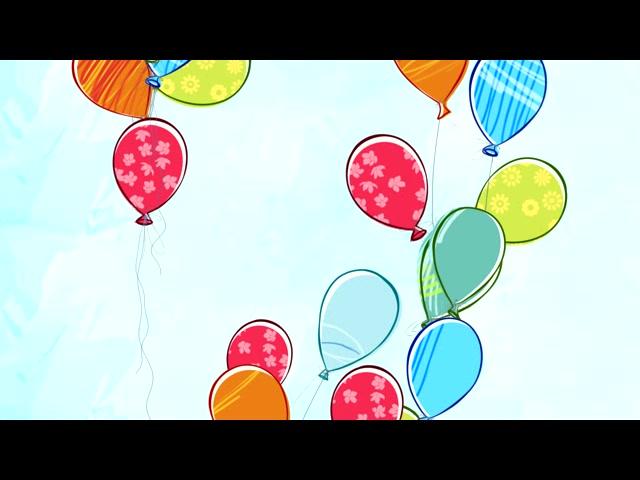 气球 卡通 缤纷
