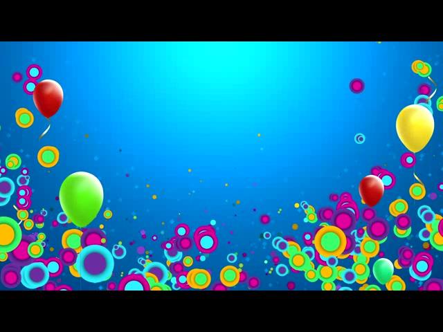 可爱气球圆点