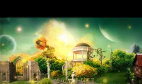 背景 风景  唯美  梦幻   儿童  卡通
