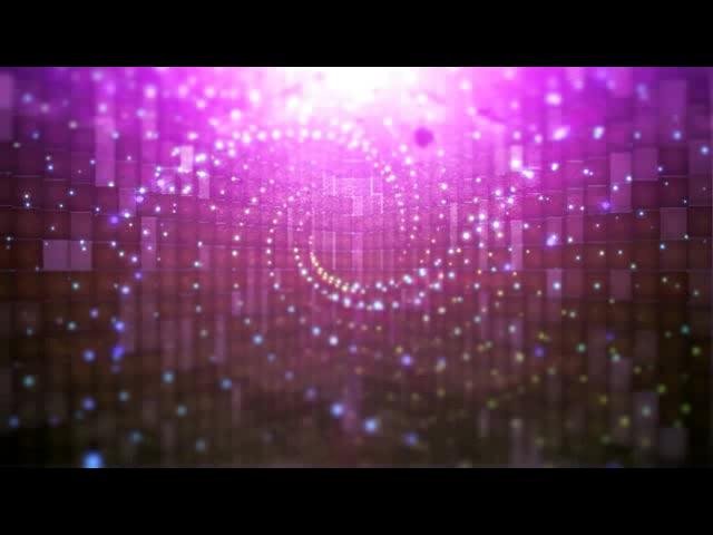 紫色粒子顺时针旋转旋窝特效素材