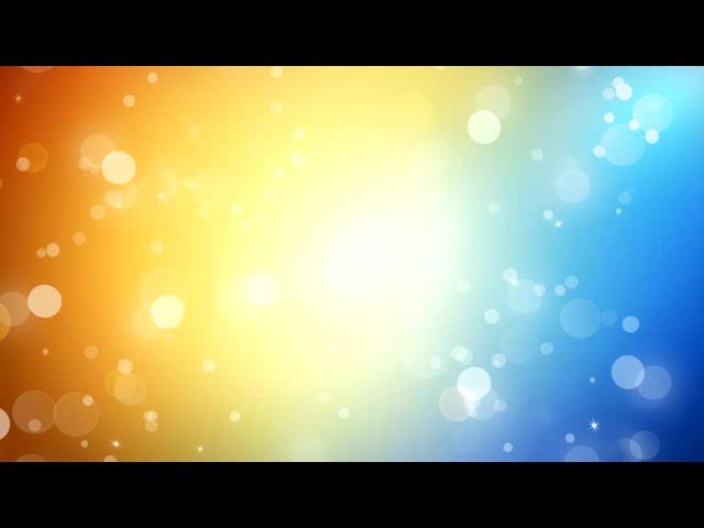 金蓝双色光晕交融LED素材