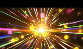 多彩粒子穿透射線led素材