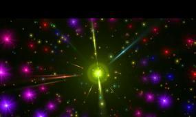 flare炫彩闪光粒子隧道