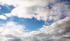 高清蓝天白云视频素材