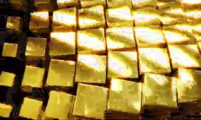 金色方块转场带通道