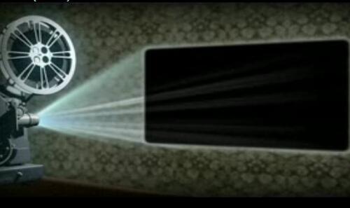 绘声绘放映机视频模板